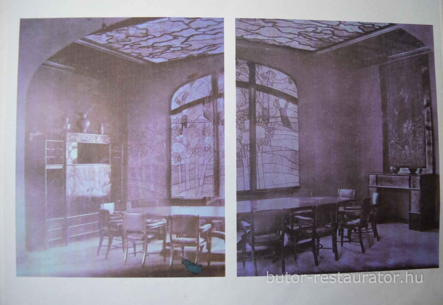 Andrássy Ebédlő, Rippl-Rónai Múzeum, Rekonstruálás, Tiszadob